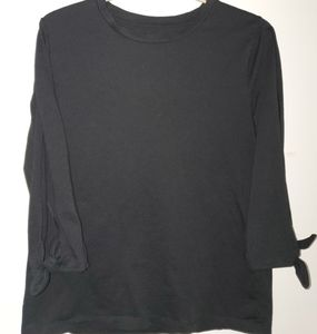 Black Long Sleeve (cut out on sleeves)